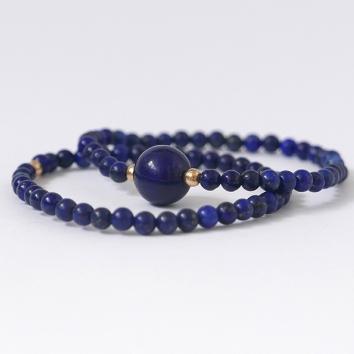 Conjunto de 2 Pulseiras Royal Lapis Lázuli